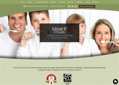Legacy Dental - Shawnee KS