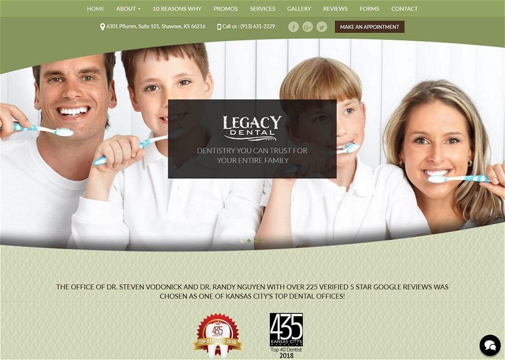 Legacy Dental - Shawnee KS