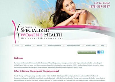 The Center for Specialized Women's Health