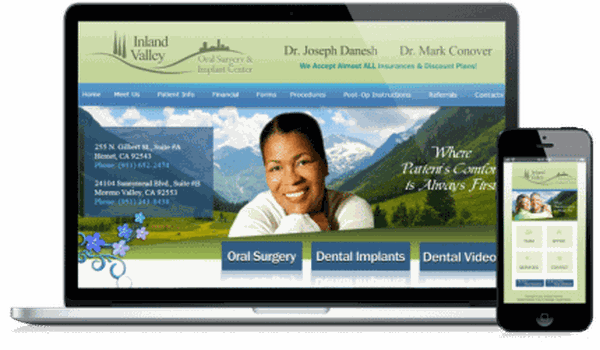Oral Surgeon Website Sample