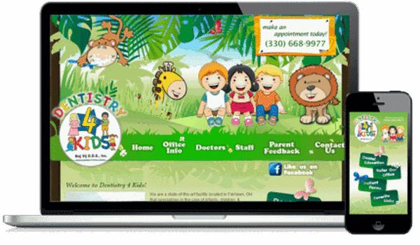 Pediatric Website Example