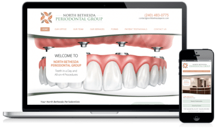 Perodontic Website Design