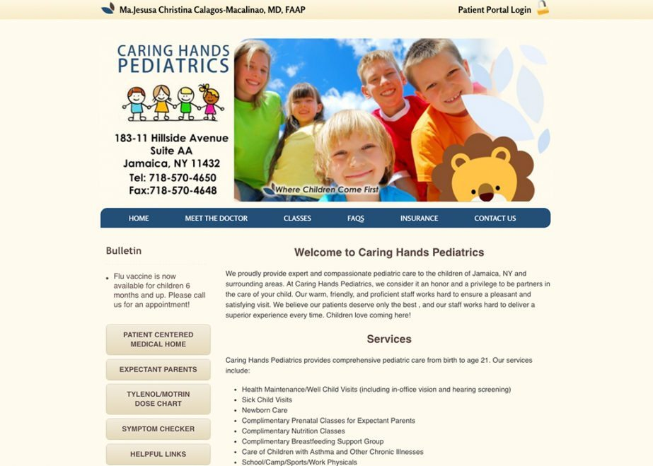 Caring Hands Pediatrics