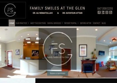 Family Smiles Display Image