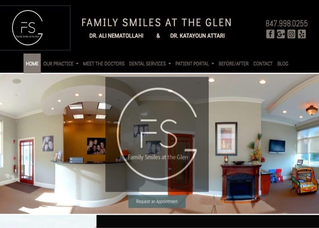 Family Smiles Display Image