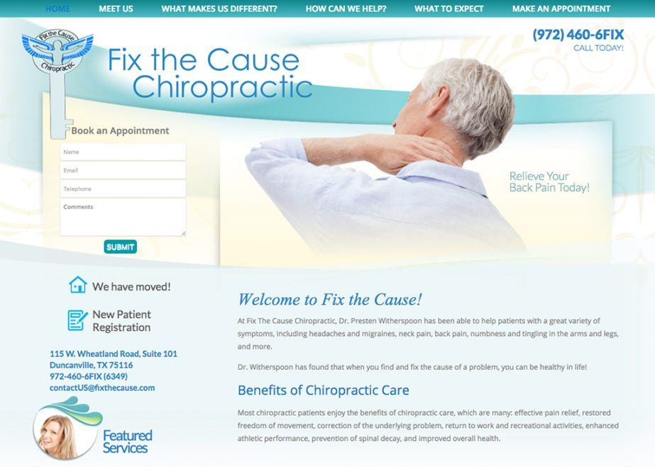 Fix The Cause Chiropractic