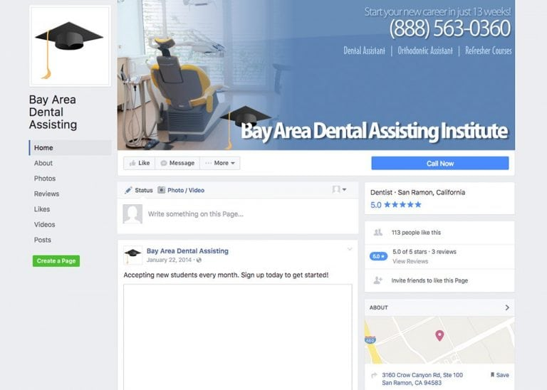 Bay Area Dental Assisting - Facebook