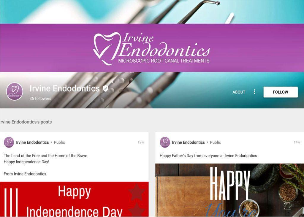 irvine endodontics google plus profile