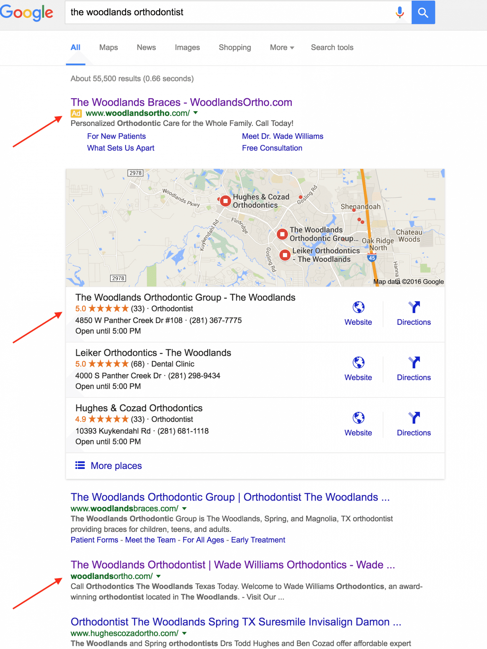 seo success example