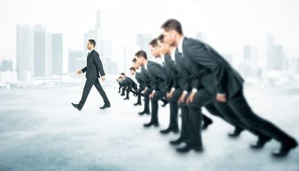 Healthcare Professionals in front of competition