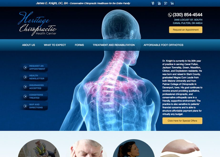 Heritage Chiropractice Health Center, Inc