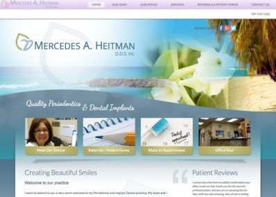 Mercedes A Heitman, DDS Inc