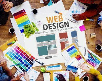 Dental Website design team brainstorming