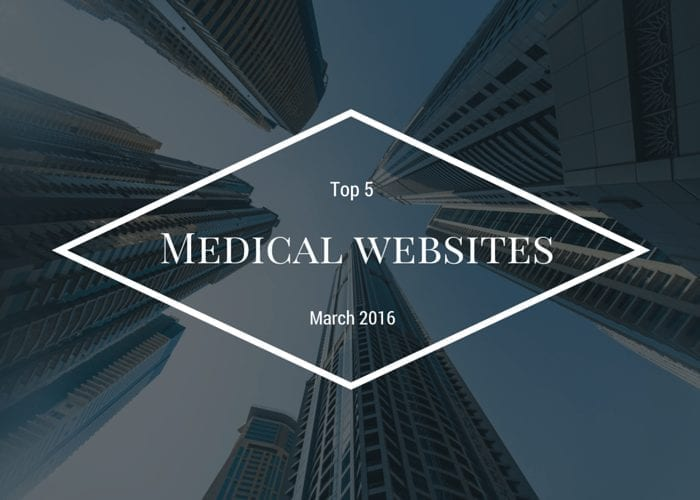 Top 5 modern medical websites