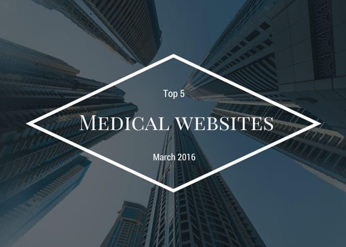 Top 5 modern medical websites