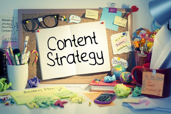 Content strategy illustration.