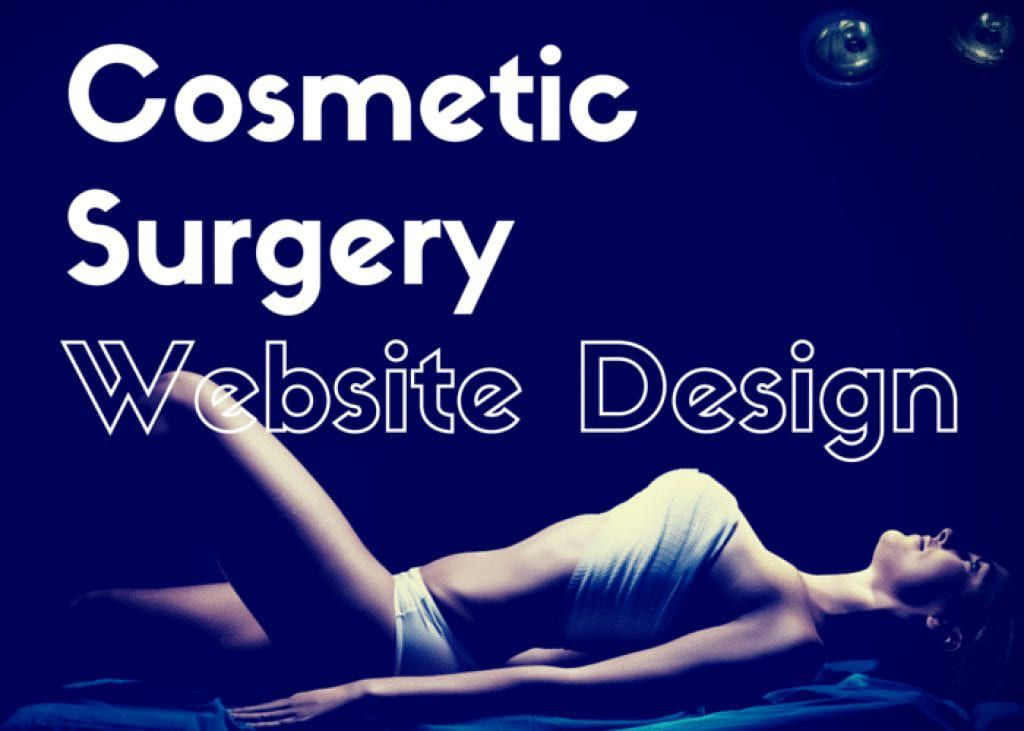 cosmetic website design