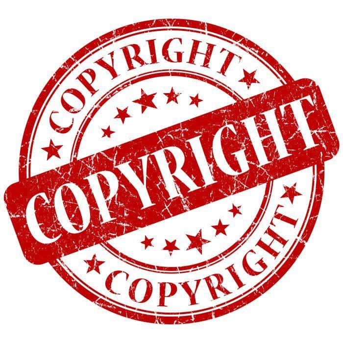 copyright logo stamp