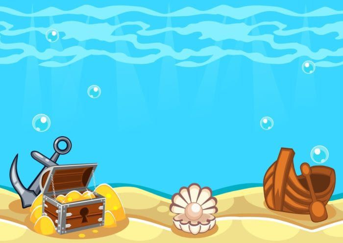 Deep sea illustration