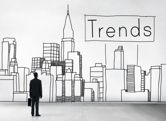 an illustration about trends