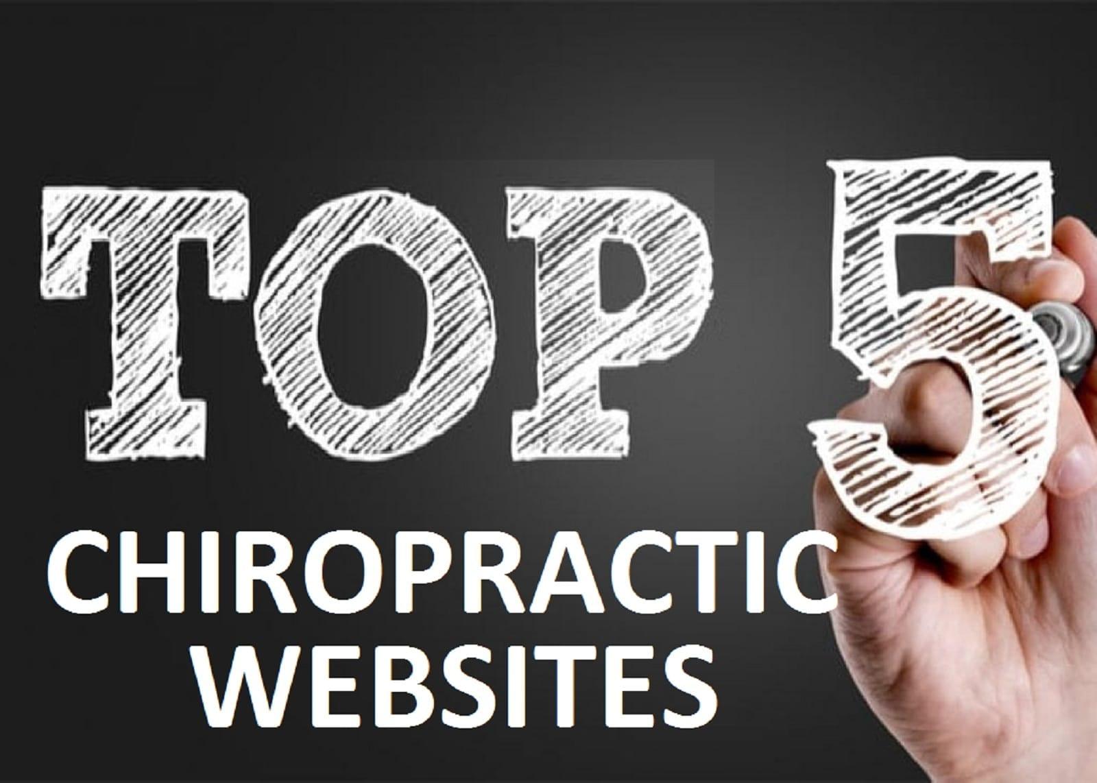 Top 5 Chiropractic Websites