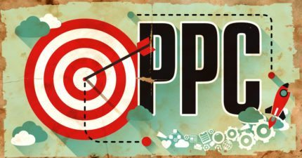 Target hit on the bullseye with PPC letters next to it.