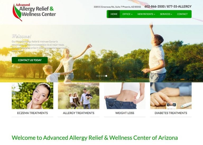 Advanced Allergy Relief & Wellness Center of Arizona
