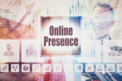 Online presence sign