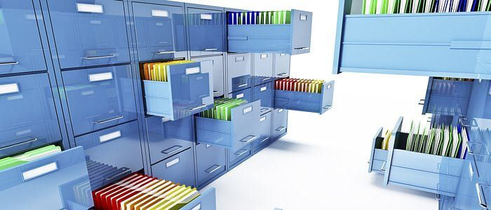 Files that are organized to show how a website should be organized
