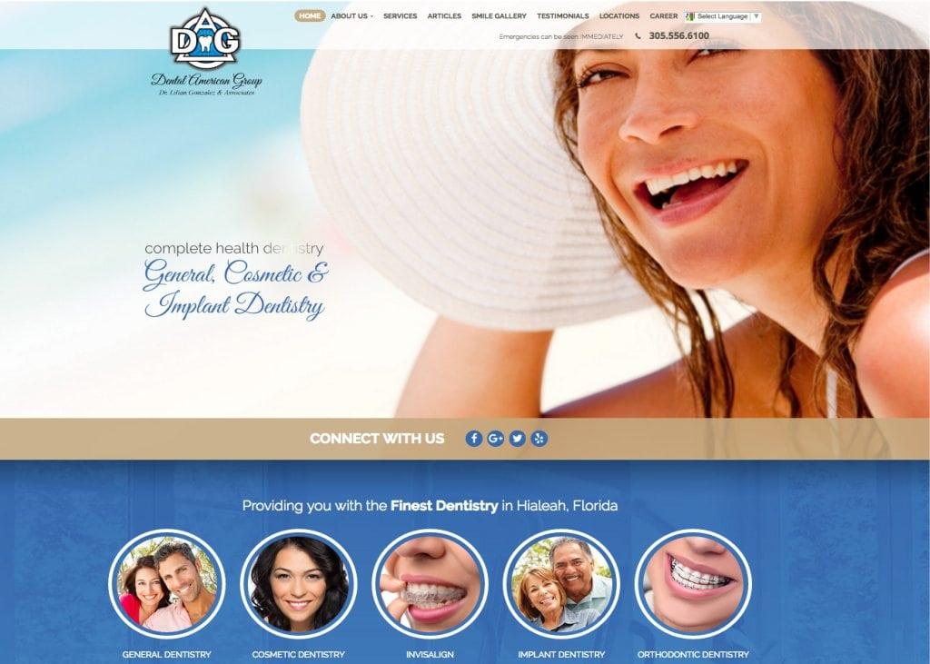 dental american group website