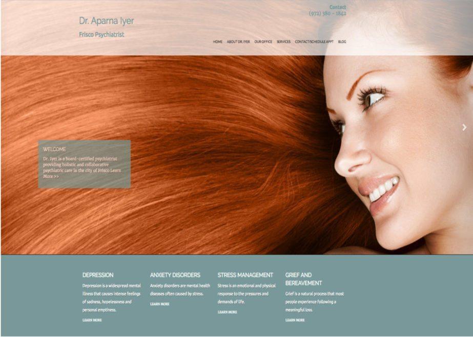 dr aparna lyer psychiatrist website
