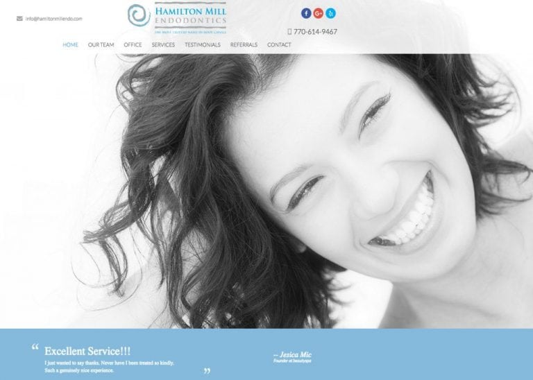 hamilton mill endodontic website
