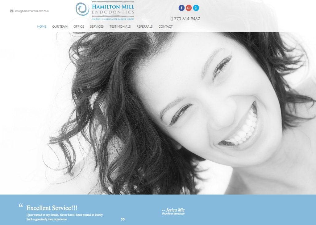 hamilton mill endodontic website