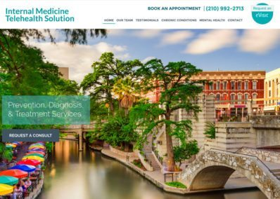 internal medicine telehealth website