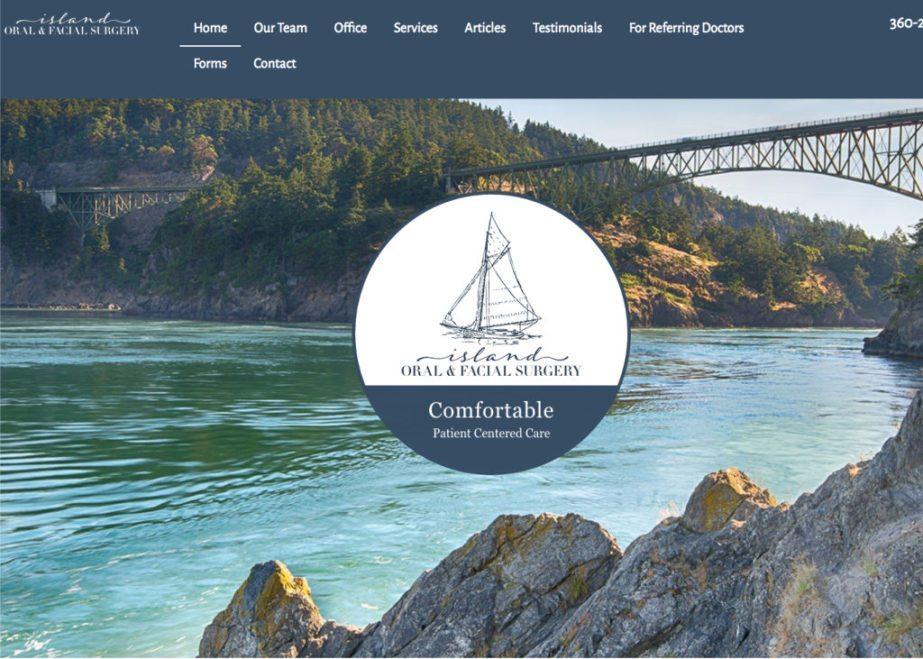 island oral facial surgery website