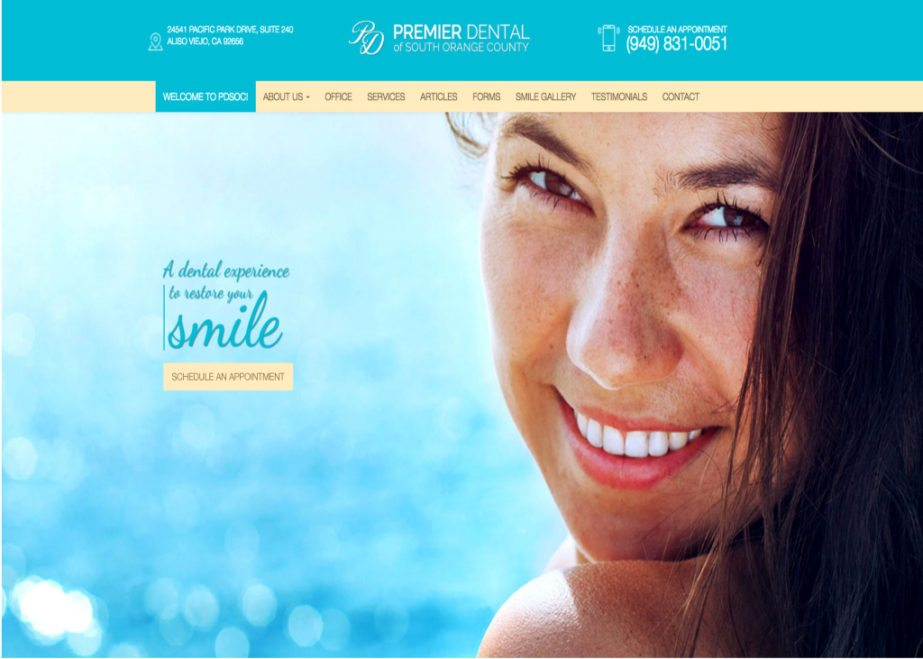 premier dental of south orange county website