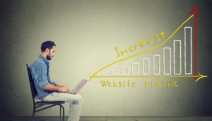 Increasing Visitors with Custom Website