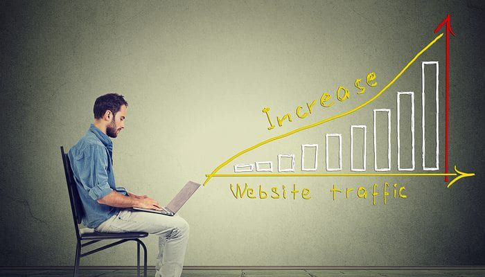 Increasing Visitors with Custom Website