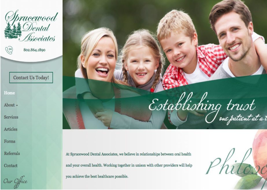 sprucewood dental associate website