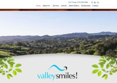 Valley Smile Website