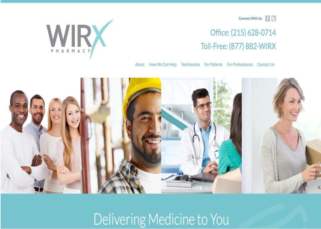 wirx pharmacy website