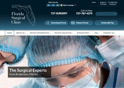 florida surgical clinic website