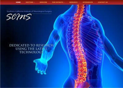 Southern California Neurological Surgery Website