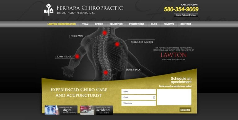 Chiropractic Website Design for Chiropractors