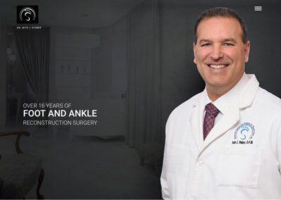 dr seth seber foot and ankle website