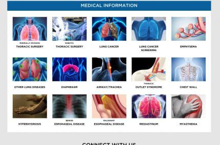 Saint John Health Center and Cancer Treatment Website
