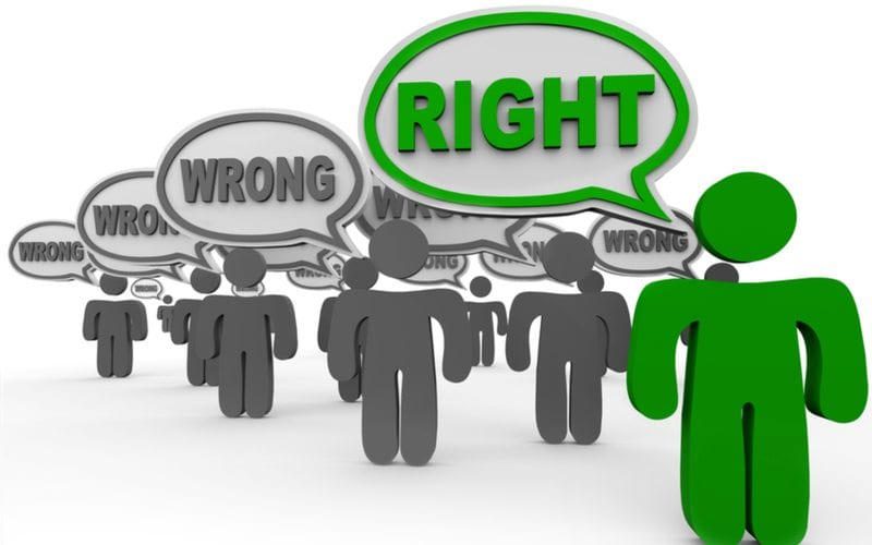 Right Audience and Wrong Ones