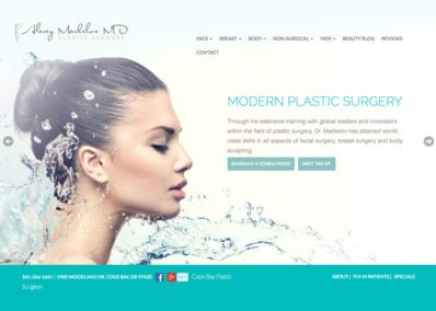 Alexey Markelov Plastic Surgery Website