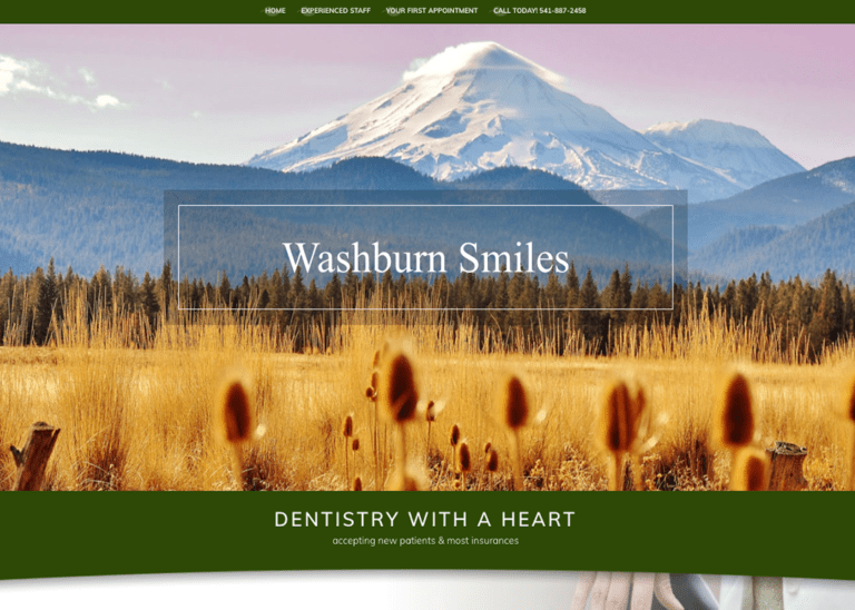 Washburn Smiles Website