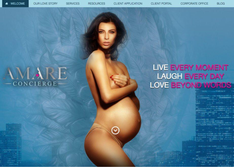 amare concierge obgys website